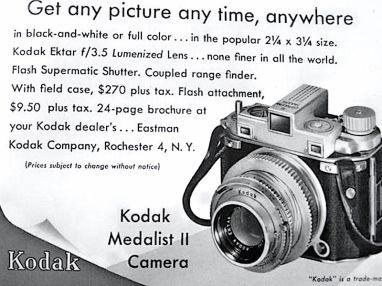 Kodak Medalist II 8